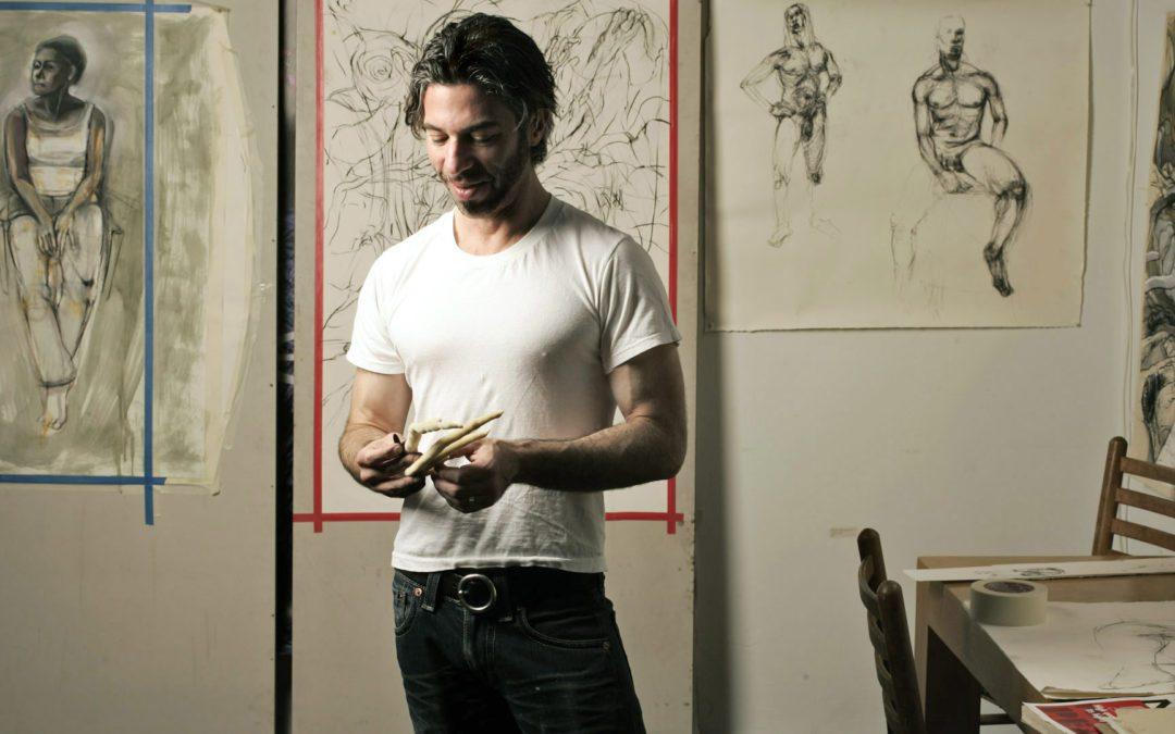 SF ART NEWS interview