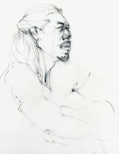 stan, white drawing